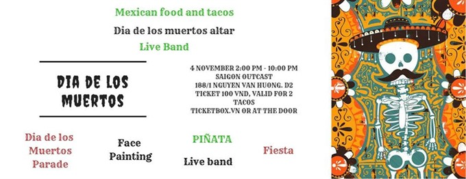 Mexicos Day of the Dead holiday party at Saigon Outcast