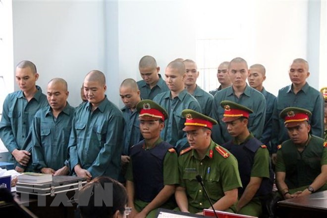 Prison sentences pronounced on rioters in Bình Thuận