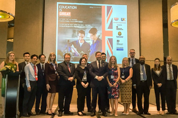 City enlists UK help to improve vocational training quality