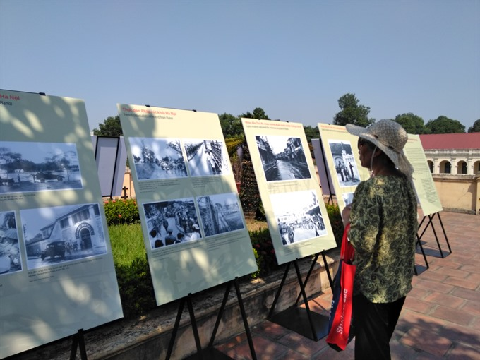 Exhibition recalls Hà Nội in 1954 victory