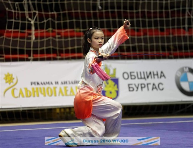 Wushu artists bring home world golds