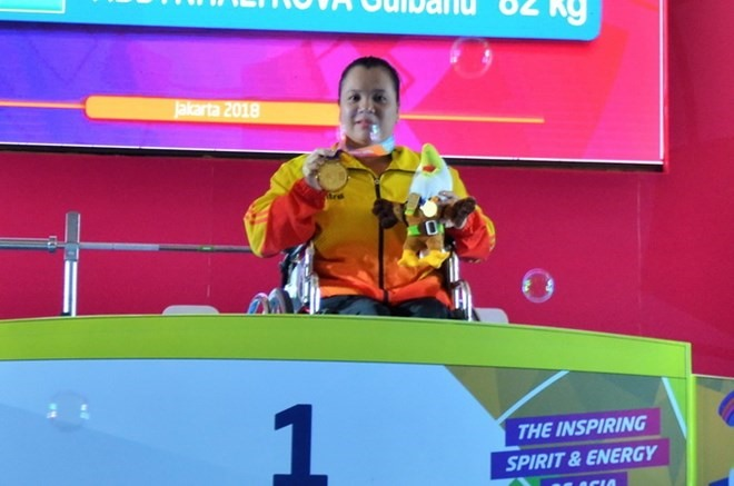 Việt Nam win three golds at Asian Para Games