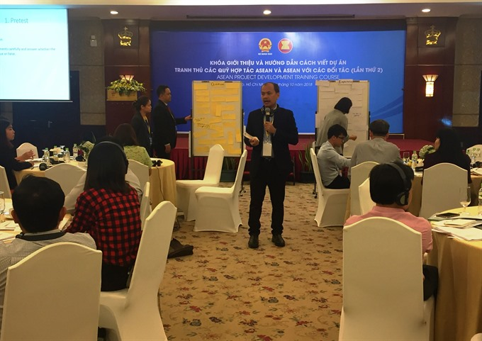 ASEAN project development course opens in HCM City