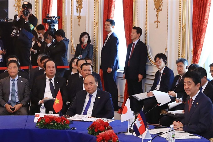 Mekong-Japan co-operation lifted to strategic partnership