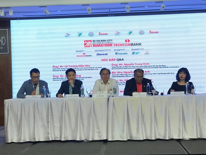 Techcombank HCM City Intl Marathon expects 8000 runners