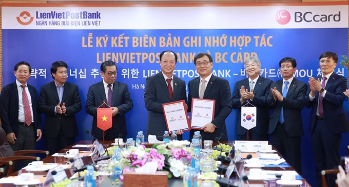 LienVietPostBank and BC Card promote digital banking