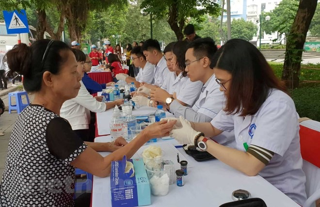 One thousand screened for diabetes in Hà Nội