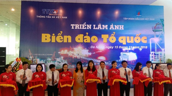 VNAs Sea and Islands photo exhibition opens in Đà Nẵng