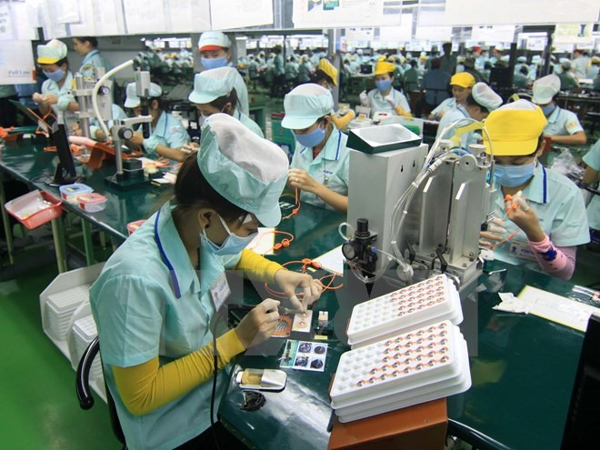 HCM Citys electronics production industry sees significant growth