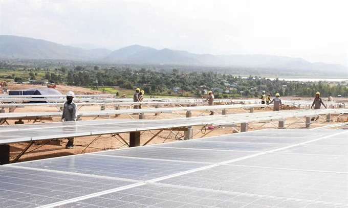 Krông Pa: hotspot for new solar energy projects