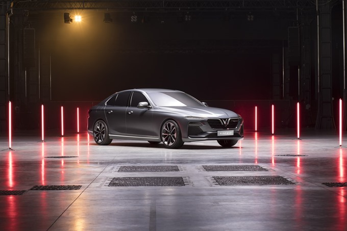 VinFast debuts new cars and motorbike
