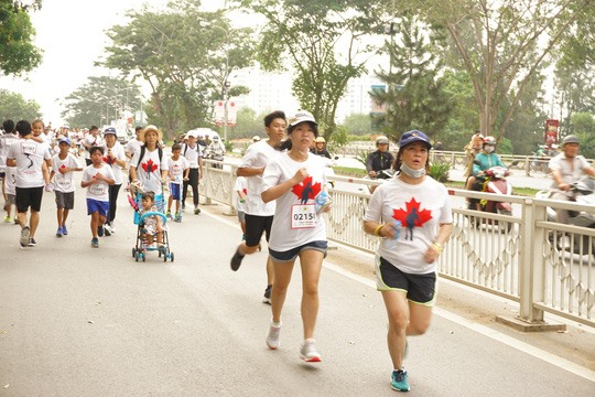 Terry Fox Run raises funds for cancer treatment