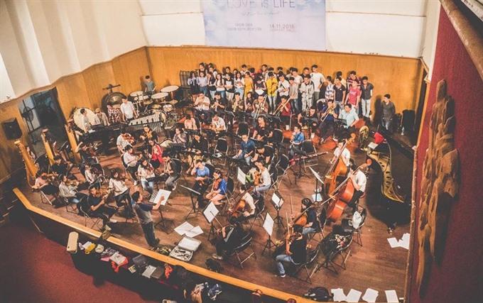 Saigon Choir members say classical music can be for everyone