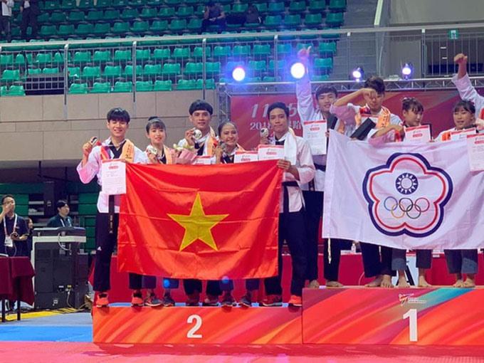 Việt Nam win seven medals at world taekwondo champs