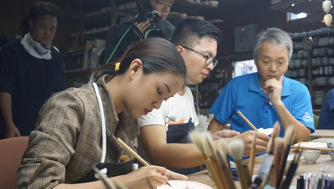 Japanese traditions and life to feature in television series