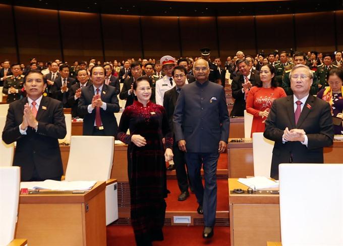 NA welcomes Indian President Ram Nath Kovind