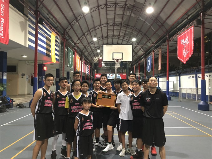 Vietnamese-American brings his passion for basketball to VN