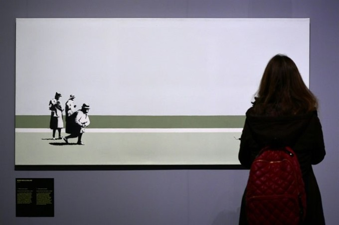 Banksy the rebel on show in Milan