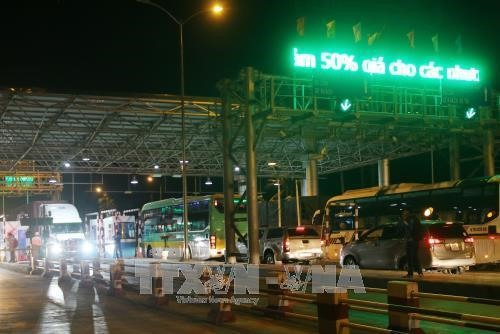 Two options proposed for Cai Lậy toll booth