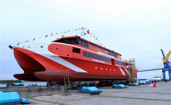 New high-speed ship launched in Quảng Ninh