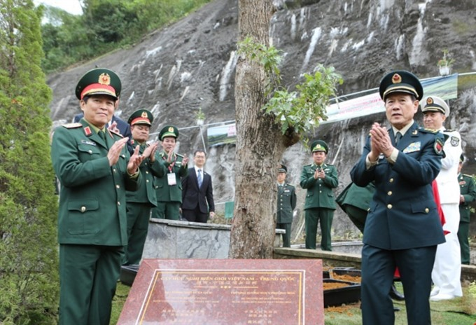 Việt Nam-China border defence relation gets better by time