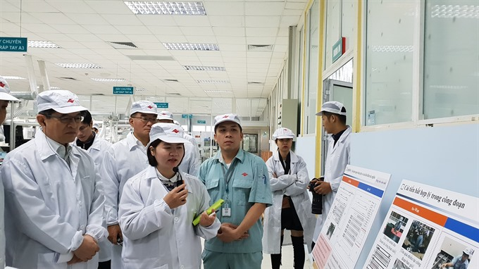 Samsung continues to support Vietnamese firms to join global supply chain