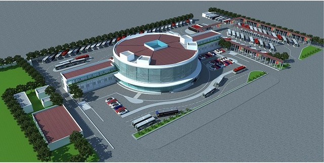 Yên Sở Coach Station suitable with capital planning