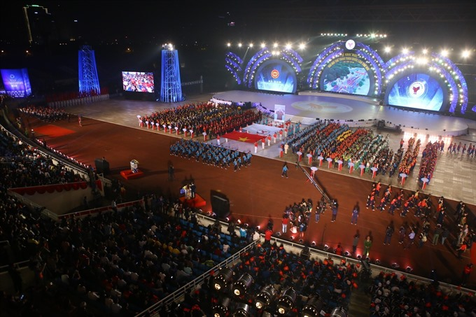 National Sports Games officially opens in Hà Nội