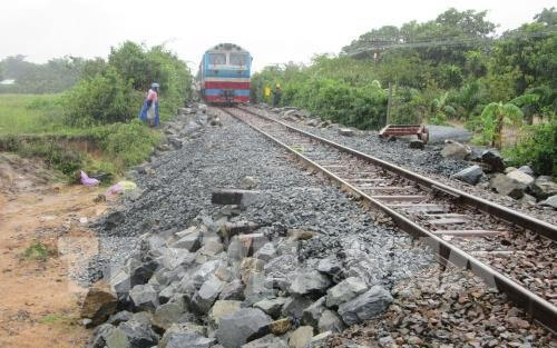 North-South railway reopens after storm