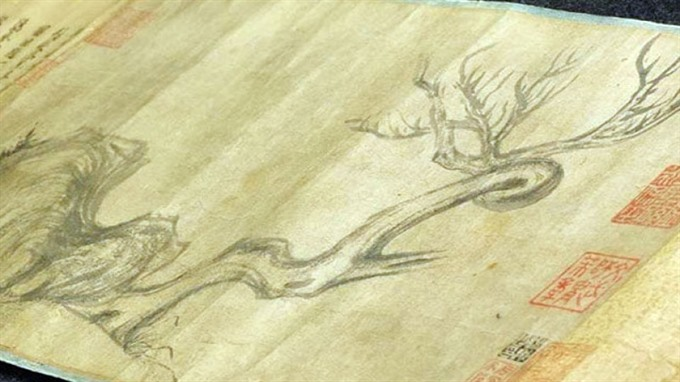 Ancient Chinese painting auctioned for almost 60 million