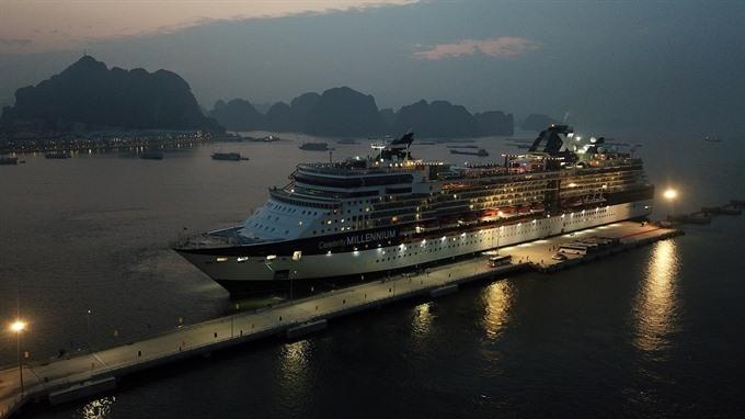 Quảng Ninhs passenger terminal welcomes the first cruise