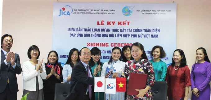 Việt Nam Japan co-operate to promote financial services for women