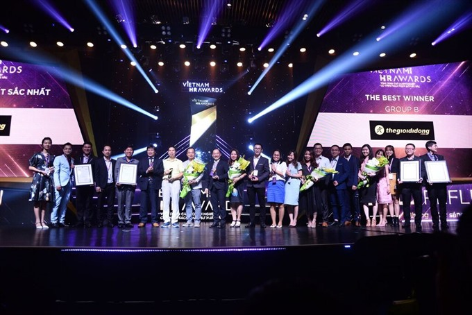 14 firms win Vietnam HR Awards
