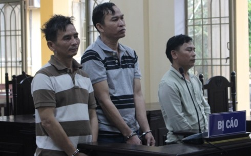 Three men receive years in prison for drug trafficking