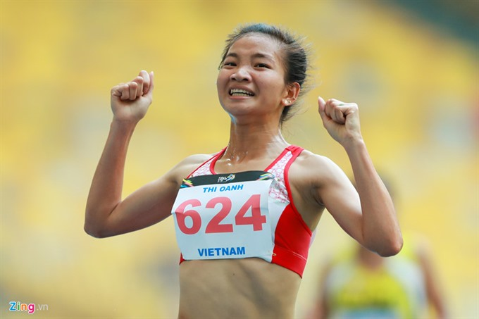 Oanh wins two titles at Games