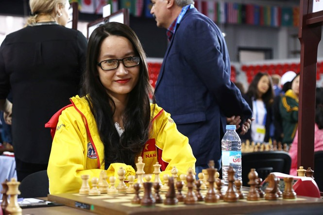Phụng represents Việt Nam to play at Womens World Chess Champ 2018