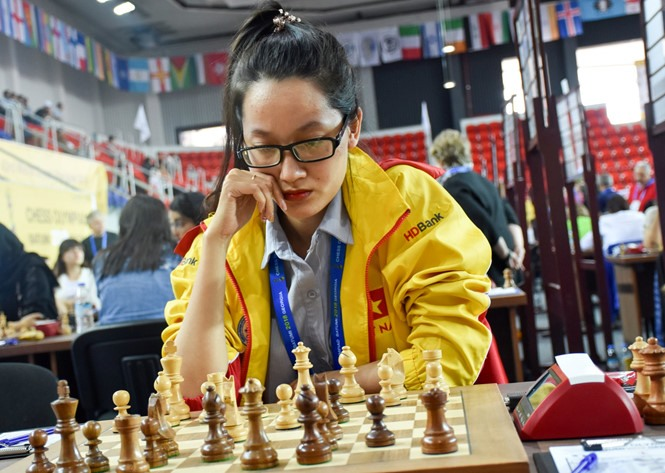 Phụng knocked out at Womens World Chess Champ 2018