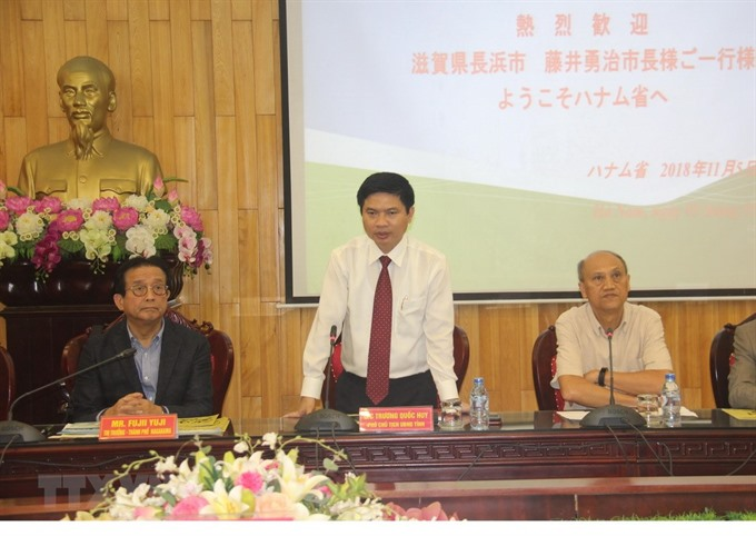 Hà Nam expects to attract more Japanese investors
