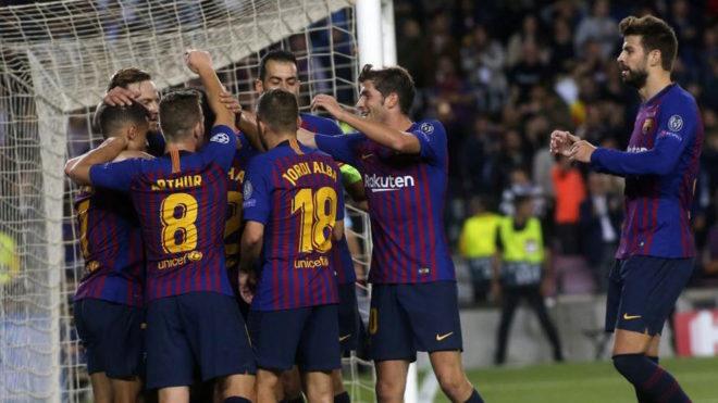 Barcelona through to Champions League last 16 despite Icardi leveller
