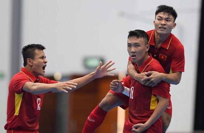 Việt Nam crush Timor Leste in AFF Futsal Championship