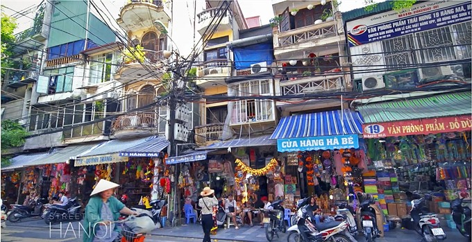 'Street Life Hanoi discovers capital from new perspective