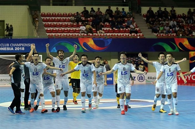 Thái Sơn Nam nominated for worlds best futsal club award