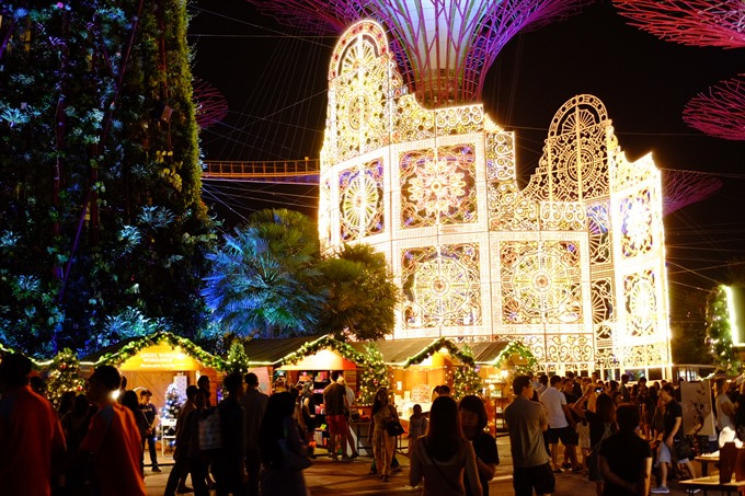 Take a visit to Singapores Christmas Wonderland