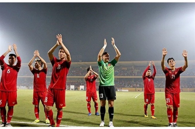 National team receive big bonuses for AFF Cup success