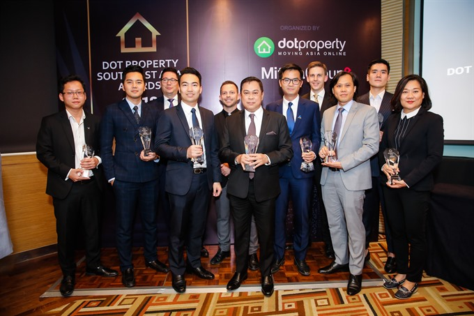 Việt Nam a big winner at Dot Property Southeast Asia Awards