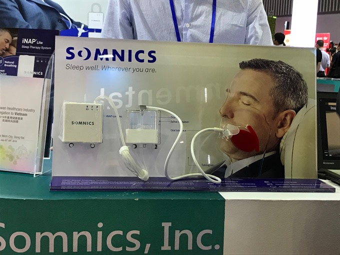800000 Vietnamese suffer from obstructive sleep apnea syndrome
