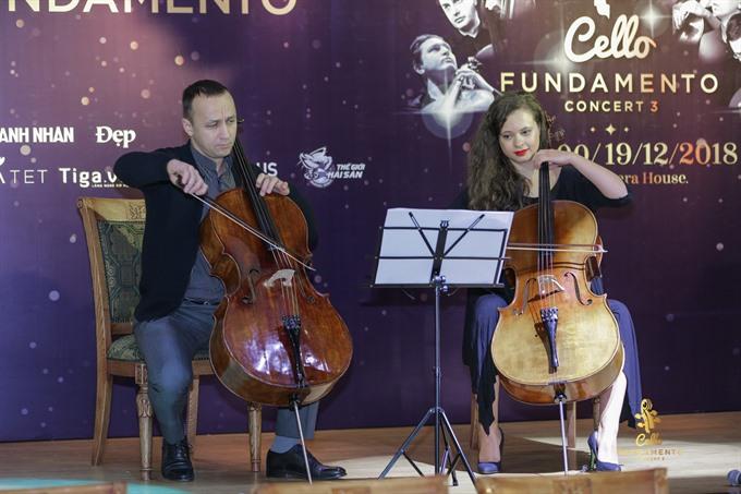 Cello Fundamento Concert to gather international artists