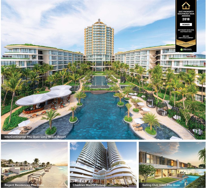 BIM Land named Best Resort Developer Southeast Asia