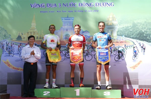 Hưng wins seventh stage of NKKN cycling tour