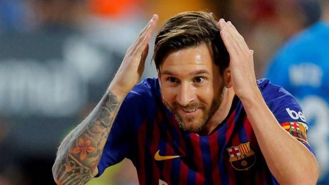 Messi hat-trick restores Barcelonas La Liga lead